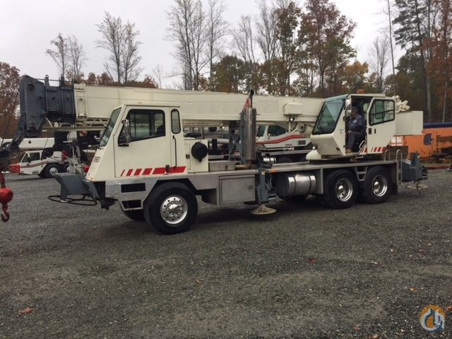 Sold 1999 Terex T340 Crane for  on CraneNetworkcom