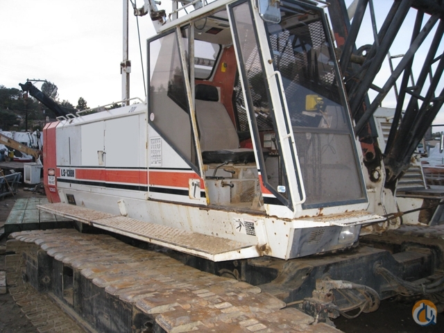 1994 Link-Belt LS138H Lattice Boom Crawler Crane for Sale in Irvine California on CraneNetwork.com