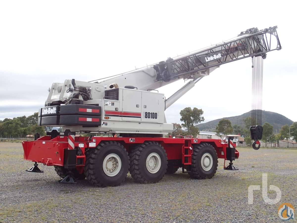 Sold 2011 LINK-BELT RTC80100 100 Ton 6x6x6 Rough Terrain Crane Crane for  in Polotitln de la Ilustracin State of Mexico on CraneNetworkcom