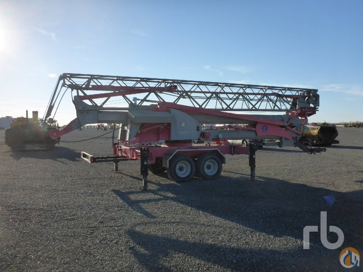 Sold 2005 POTAIN IGO MA13 Crane for  in Sacramento California on CraneNetworkcom