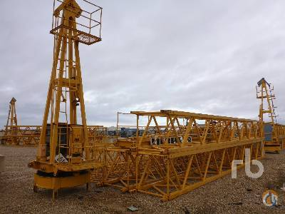 2001 LIEBHERR 63LC Tower Crane Crane for Sale in Ocaa Castilla-La Mancha on CraneNetworkcom