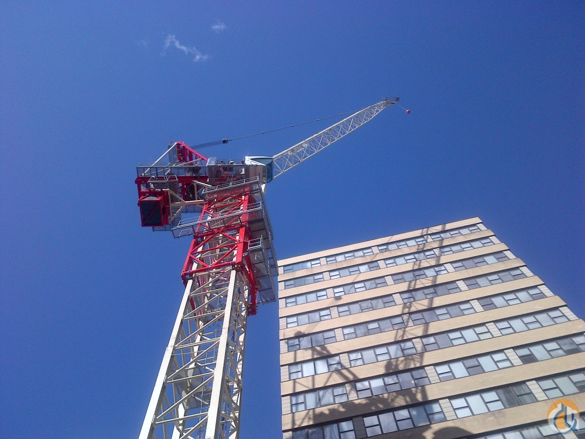 2012 Terex Luffing Tower Crane CTL440-24 HD23 Crane for Sale on CraneNetwork.com