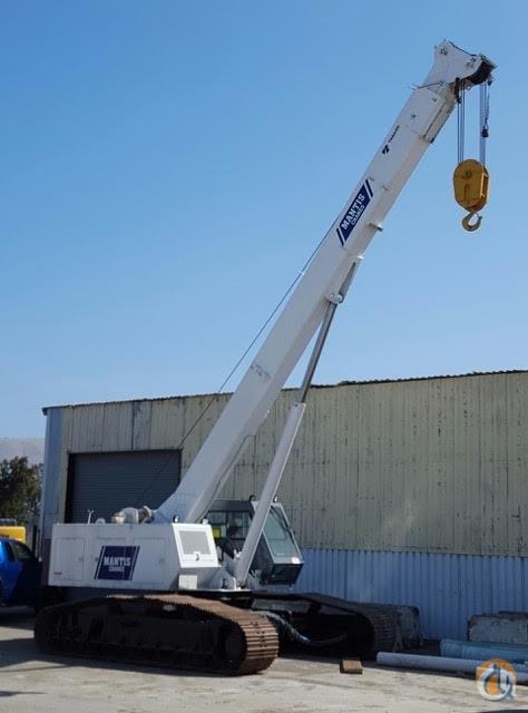 Telescopic Crane 200 Ton : Mantis ton hydraulic crawler crane cb j