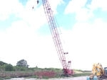 Sold 1985 Manitowoc 4100W Vicon Series II Crawler Lattice Boom Cranes Crane for  in Miami Florida on CraneNetworkcom