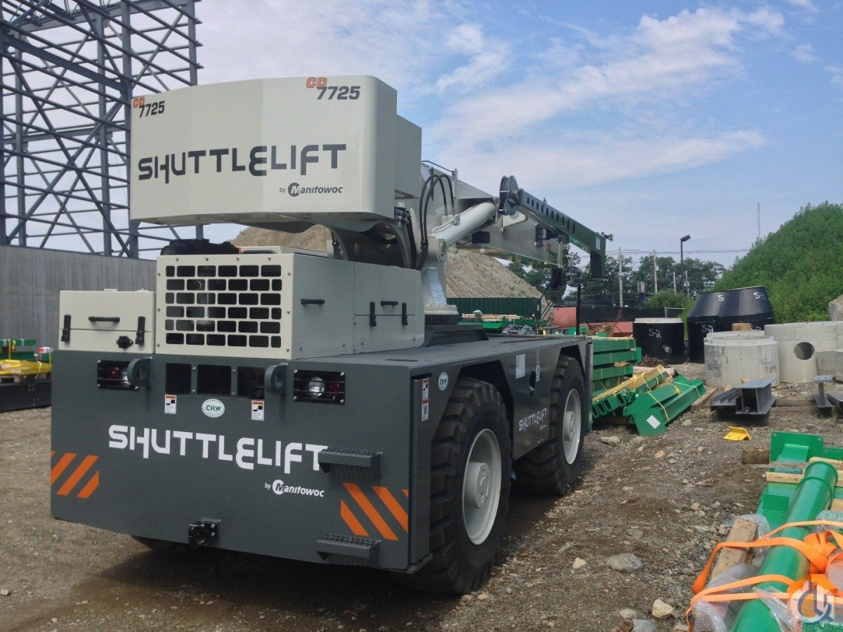 2014 Shuttlelift Carrydeck 7725 Crane for Sale in Williston Vermont on CraneNetworkcom