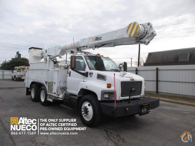 2009 ALTEC AM855-MH Crane for Sale in Birmingham Alabama on CraneNetworkcom