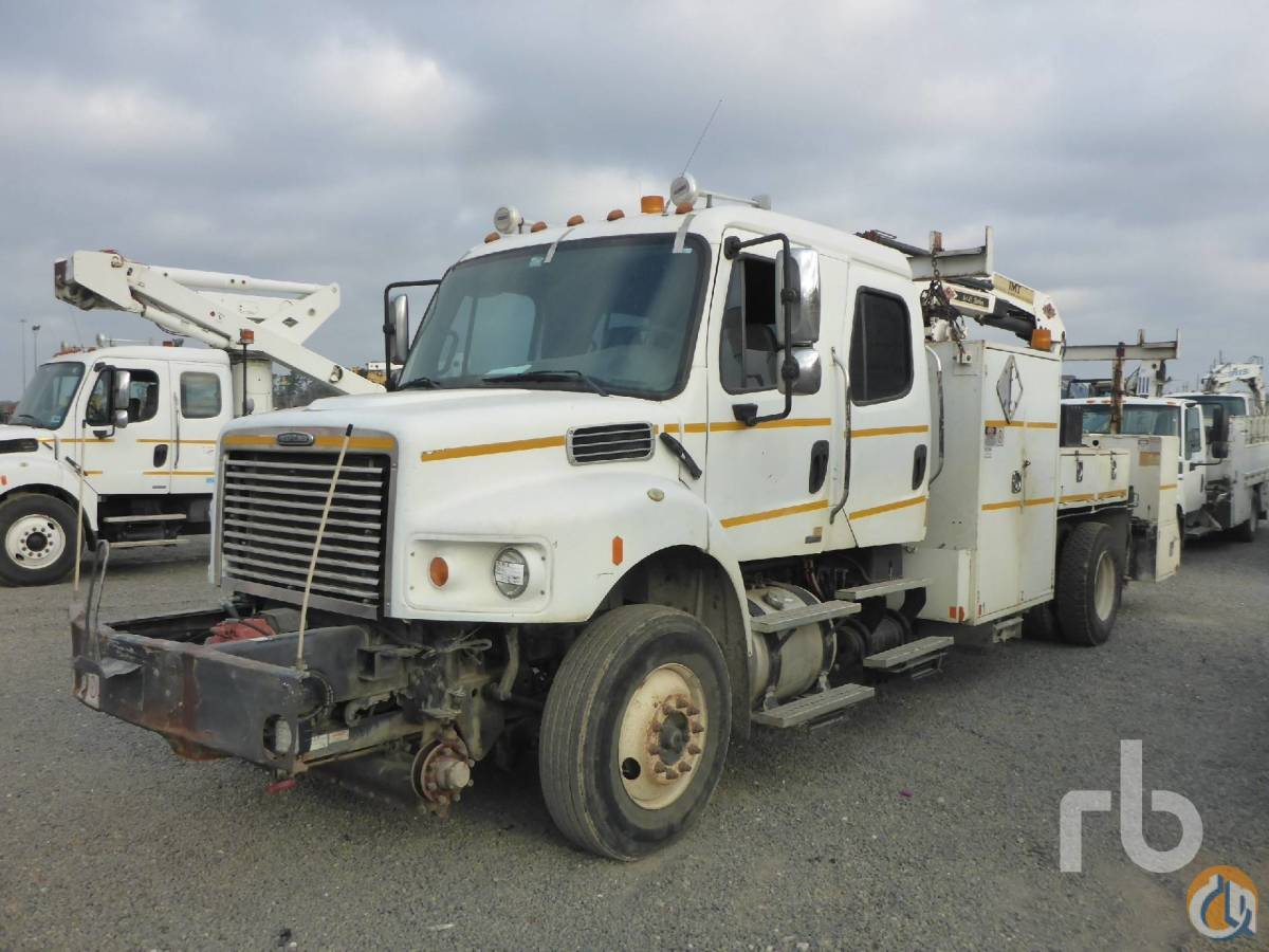 Sold 2008 FREIGHTLINER MM154042S Crew Cab SA wIMT 645 Boom Truck Crane for  in Houston Texas on CraneNetworkcom