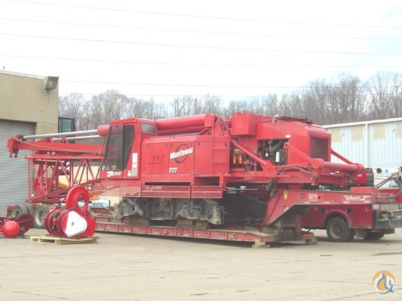 Manitowoc 777 For Sale Crane for Sale in Kaukauna Wisconsin on CraneNetworkcom