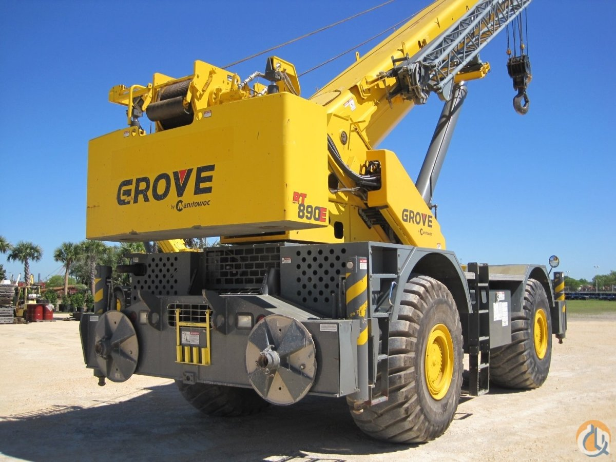 1 of 3 2012-2013 GROVE RT890E Crane for Sale in Houston Texas on CraneNetwork.com