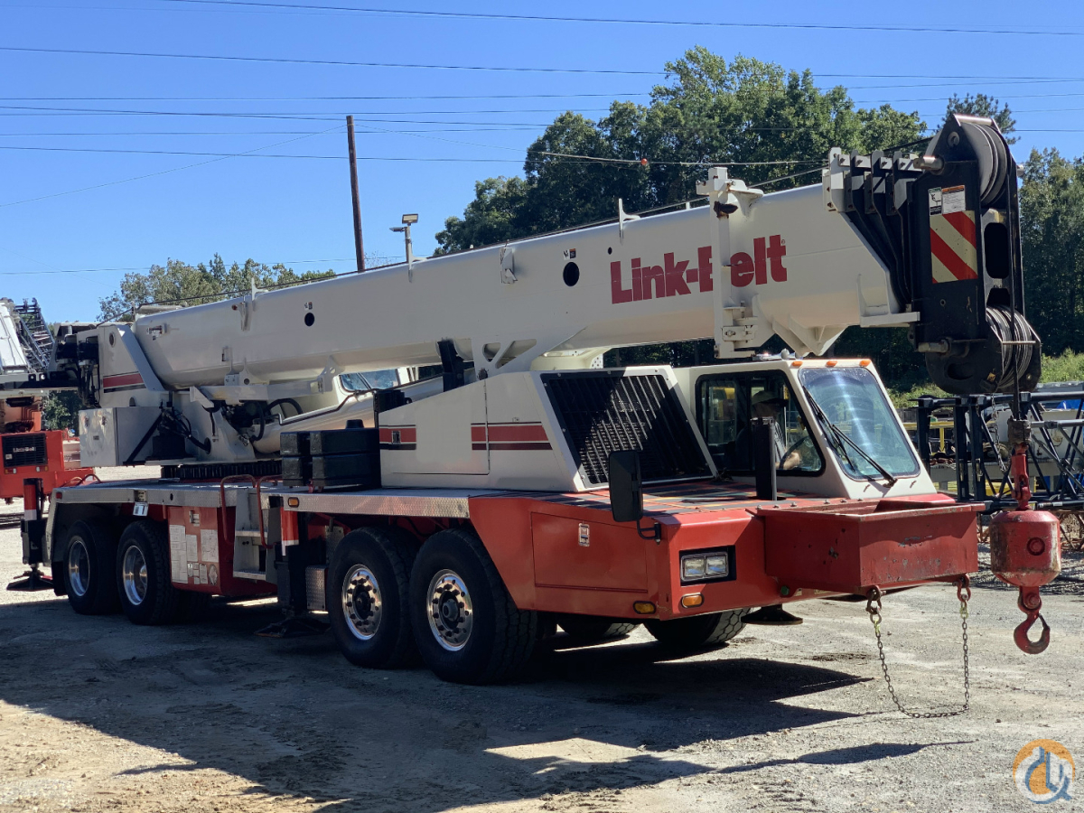 2008 LINK BELT HTC-8690 TRUCK CRANE Crane for Sale in Atlanta Georgia on CraneNetwork.com