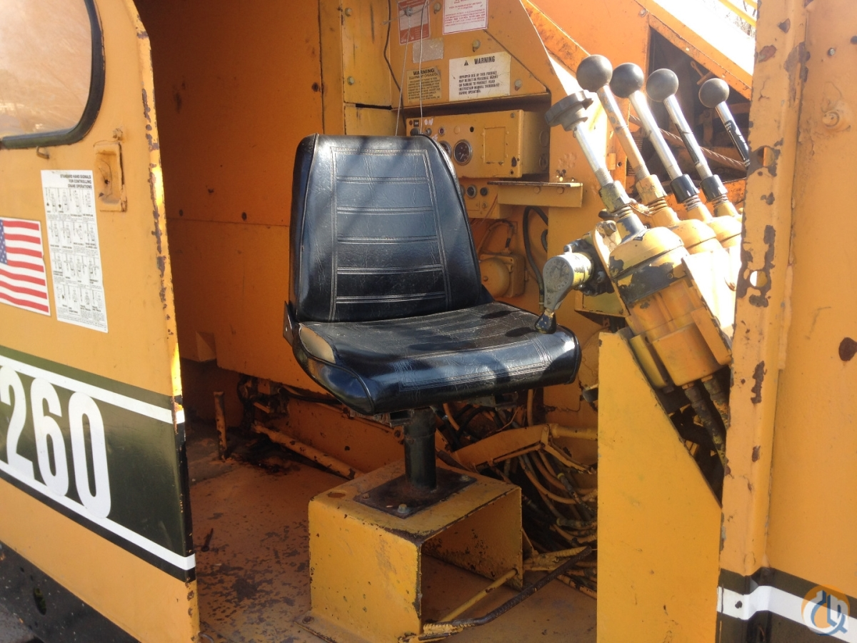 1979 AMERICAN 7260 CRAWLER CRANE Crane for Sale in Houston Texas on CraneNetwork.com