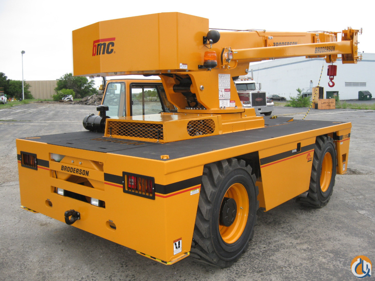 2007 BRODERSON IC-200-3F Crane for Sale or Rent in Houston Texas on CraneNetworkcom