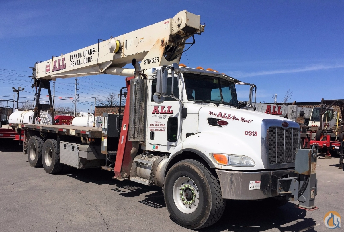 2007 Terex BT4792 Crane for Sale in Mississauga Ontario on CraneNetworkcom
