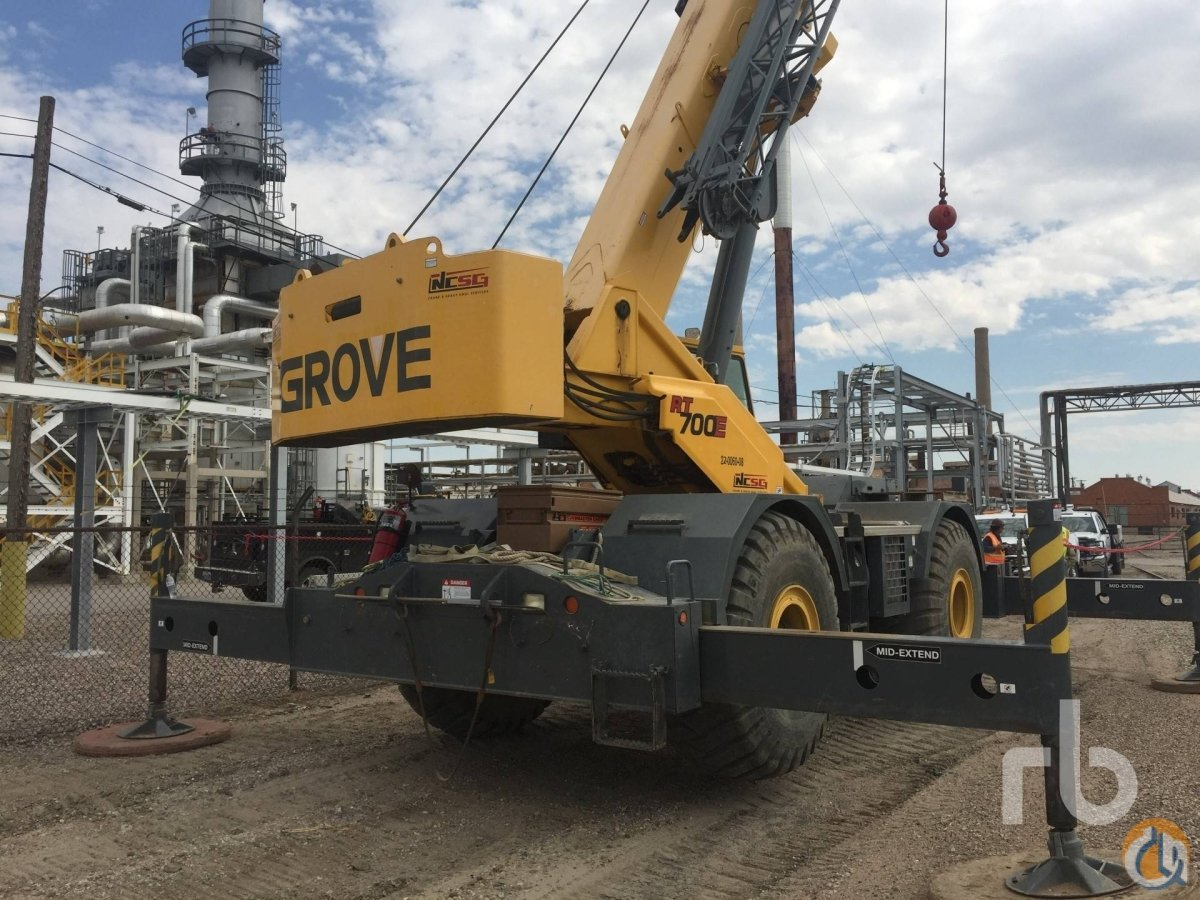 Sold 2007 GROVE RT700E Crane for  in Denver Colorado on CraneNetworkcom