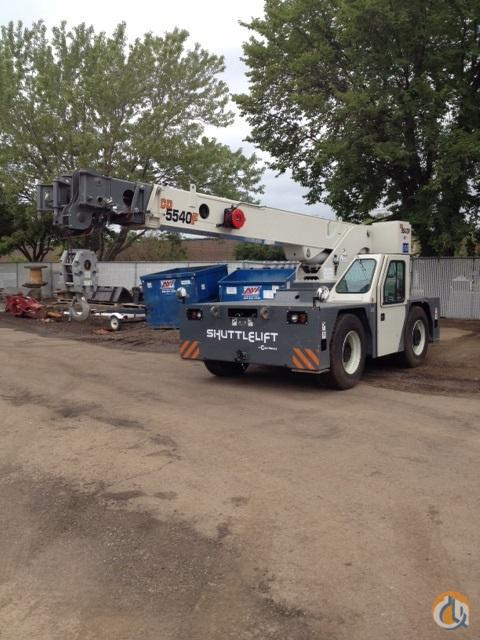 2013 SHUTTLELIFT 5540F Crane for Sale in Bloomington Minnesota on CraneNetwork.com