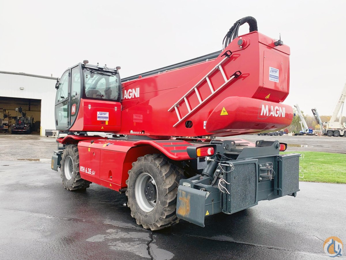 2020 MAGNI RTH6.35SH Crane for Sale or Rent in North Syracuse New York on CraneNetwork.com
