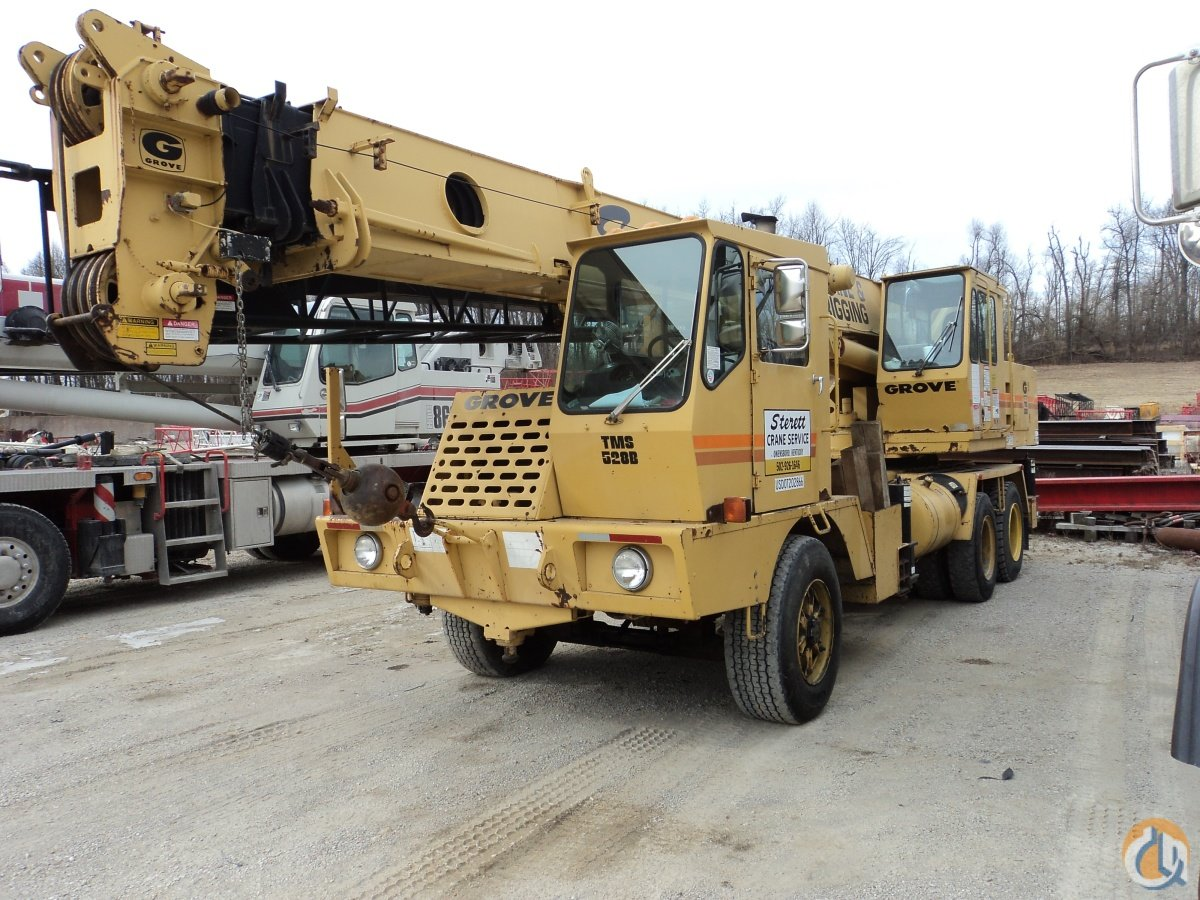 1985 Grove TMS528 Crane for Sale in Owensboro Kentucky on CraneNetwork.com