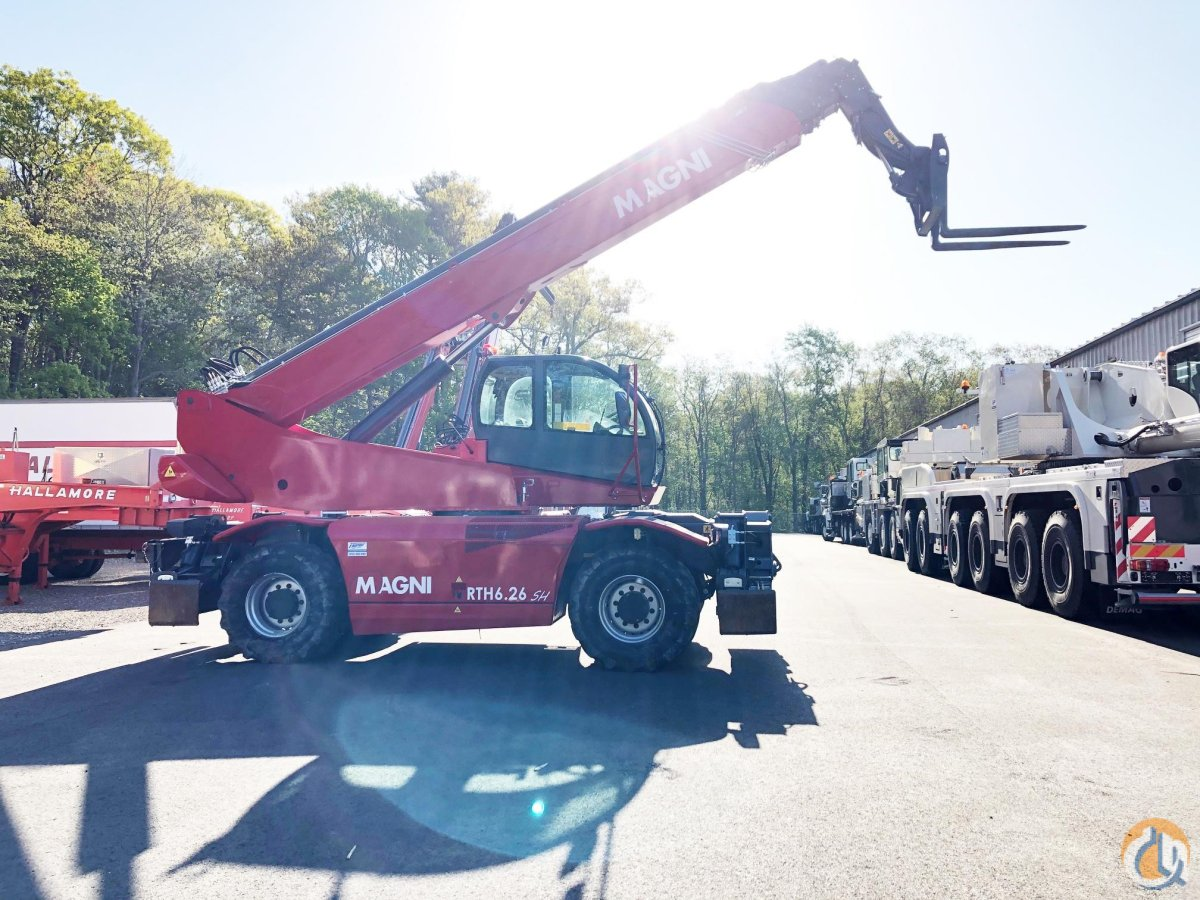 2018 MAGNI RTH6.26SH Crane for Sale or Rent in Holbrook Massachusetts on CraneNetwork.com