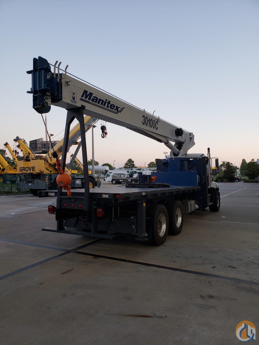 2020 MANITEX 30100C Crane for Sale in St. Augustine Florida on CraneNetwork.com