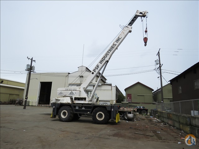 1971 DROTT 2500-CC CRANE Crane for Sale in Seattle Washington on CraneNetworkcom