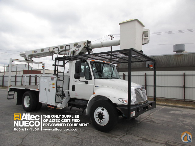 2011 ALTEC LRV56 Crane for Sale in Birmingham Alabama on CraneNetworkcom