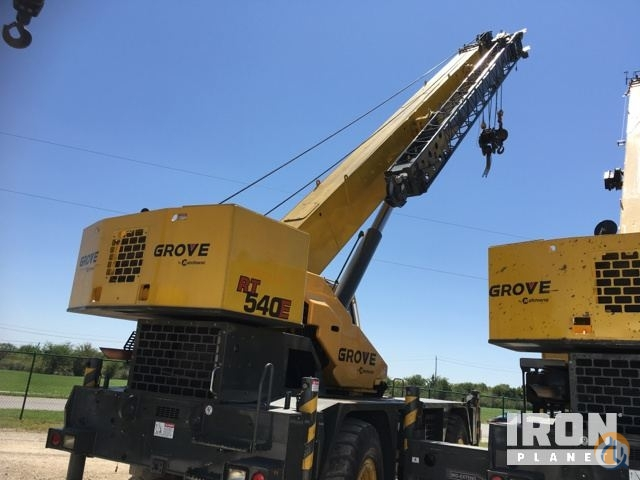 Sold 2013 Grove RT540E Rough Terrain Crane Crane for  in Lake Worth Texas on CraneNetwork.com