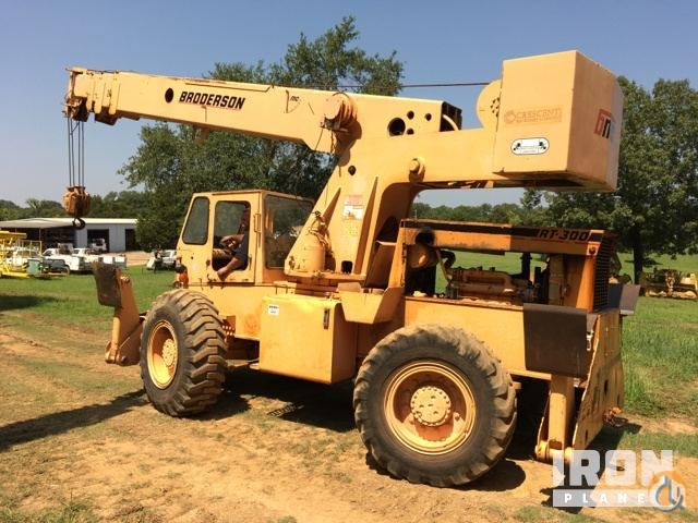 Sold 1991 Broderson RT-300-2A Rough Terrain Crane Crane for  in Central City Arkansas on CraneNetwork.com