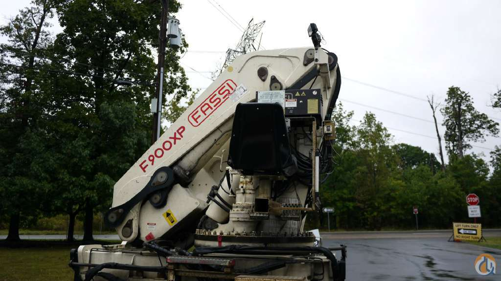 2001 Crane FASSI F900XP K8860 Crane for Sale in Hatfield Pennsylvania on CraneNetworkcom