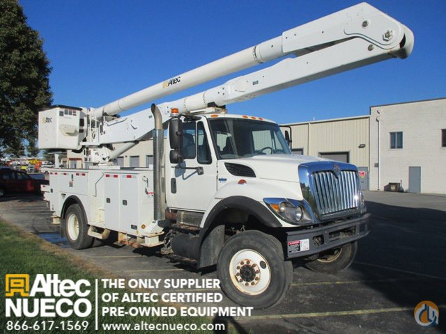 2009 ALTEC AA755-MH Crane for Sale in Frederick Maryland on CraneNetworkcom