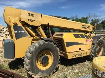 2010 Gehl DL12-40 Crane for Sale in Convent Louisiana on CraneNetworkcom