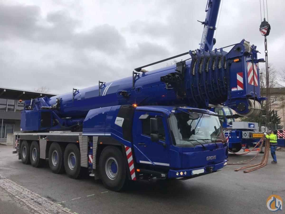 2016 GROVE GMK5250L Crane for Sale in Houston Texas on