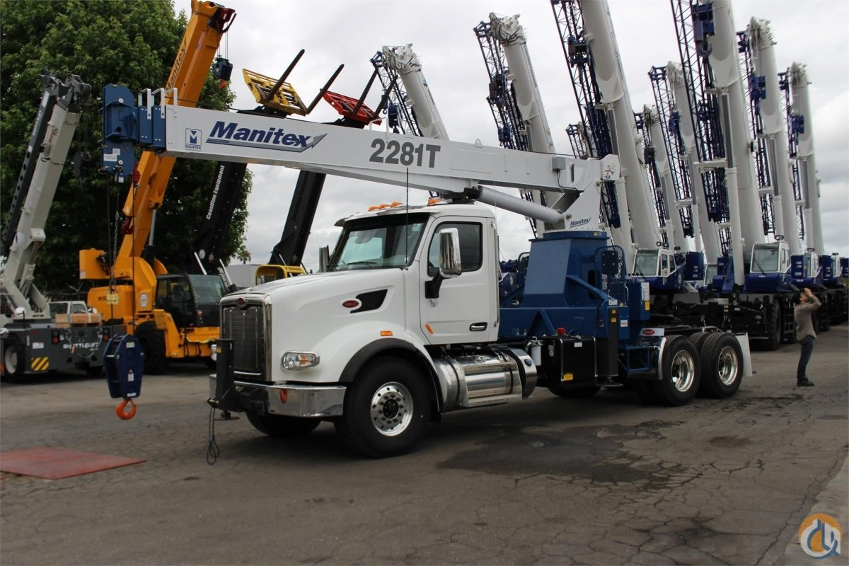 2019 MANITEX 2281T Crane for Sale or Rent in Santa Ana California on CraneNetwork.com
