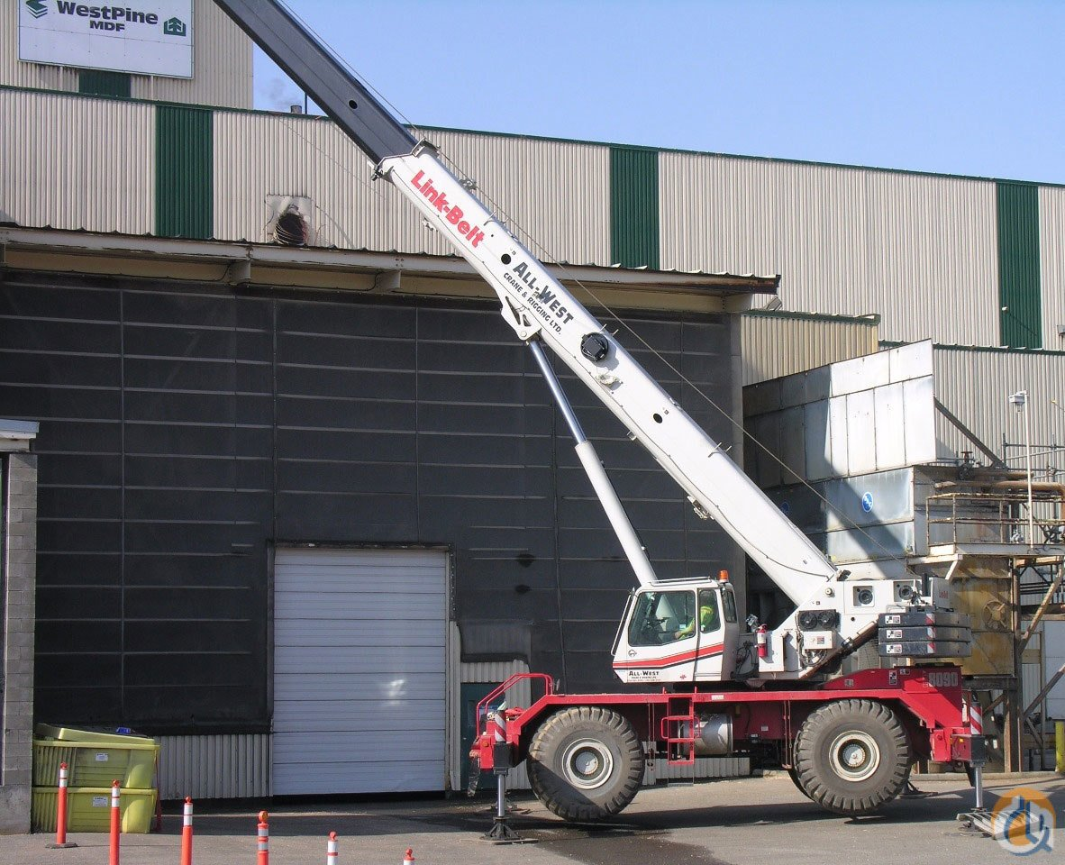 2011 Link-Belt RTC-8090 II Crane for Sale on CraneNetwork.com