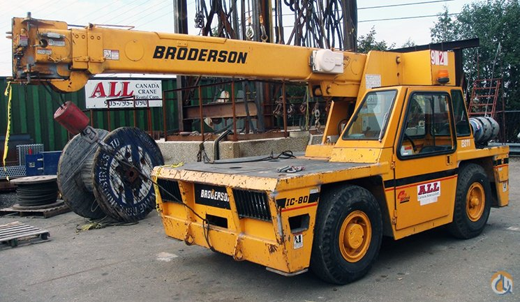Broderson IC-80-3G For Sale Crane for Sale in Mississauga Ontario on CraneNetwork.com