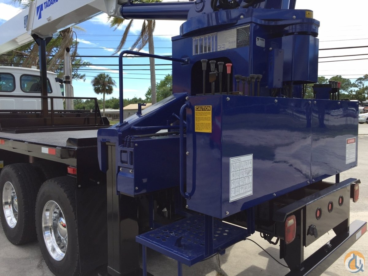 2008 TADANO TM-1882 18 ton 82 FLORIDA Crane for Sale in Fort Pierce Florida on CraneNetworkcom