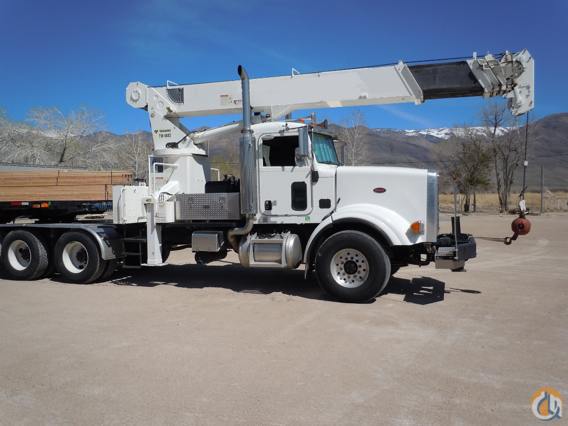 Tadano TM1882  Peterbilt 357 Crane for Sale on CraneNetwork.com