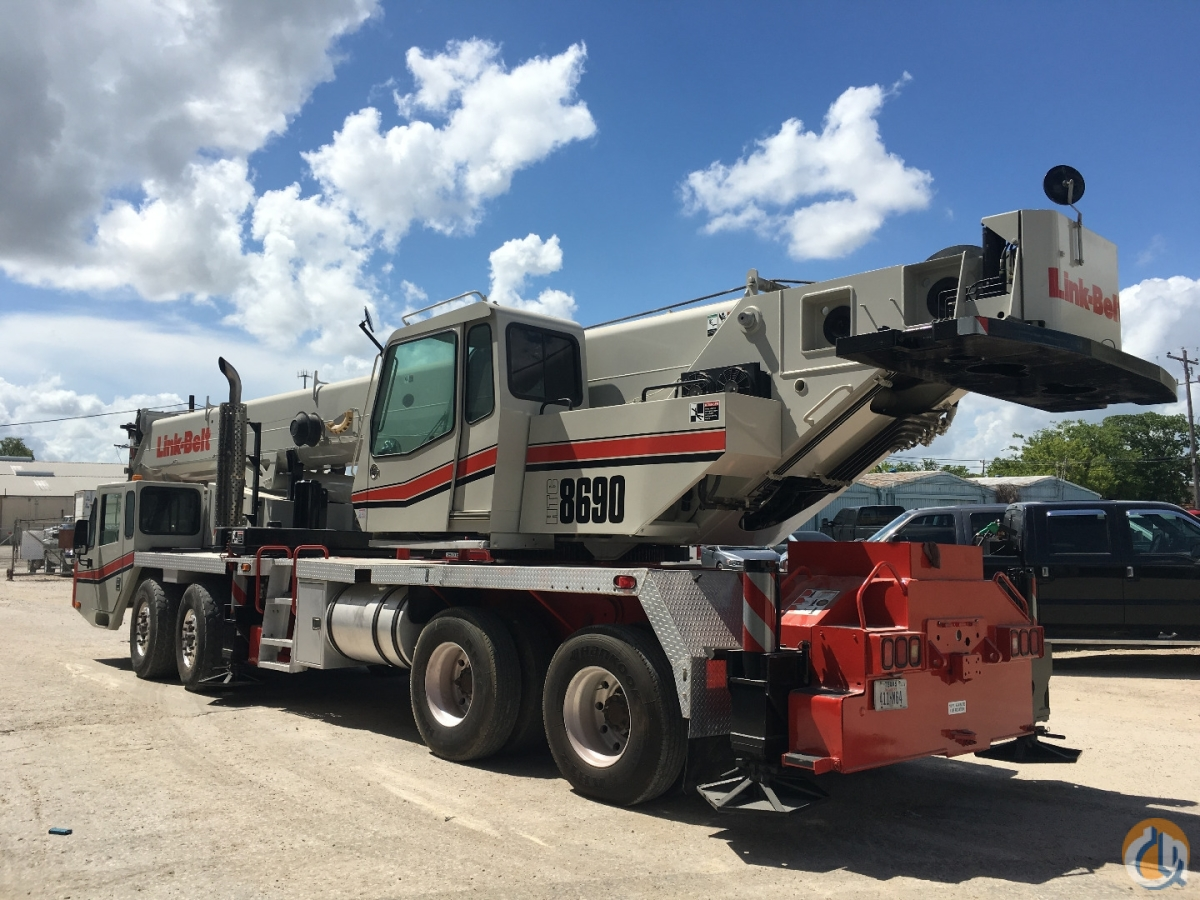 2006 LINK BELT HTC8690 Crane for Sale in Houston Texas on CraneNetwork.com
