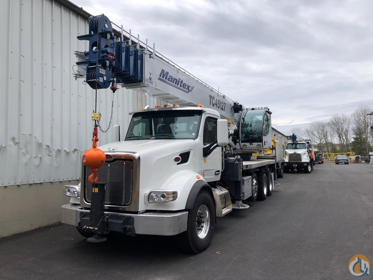 2020 MANITEX TC45127 Crane for Sale in Georgetown Texas on CraneNetwork.com