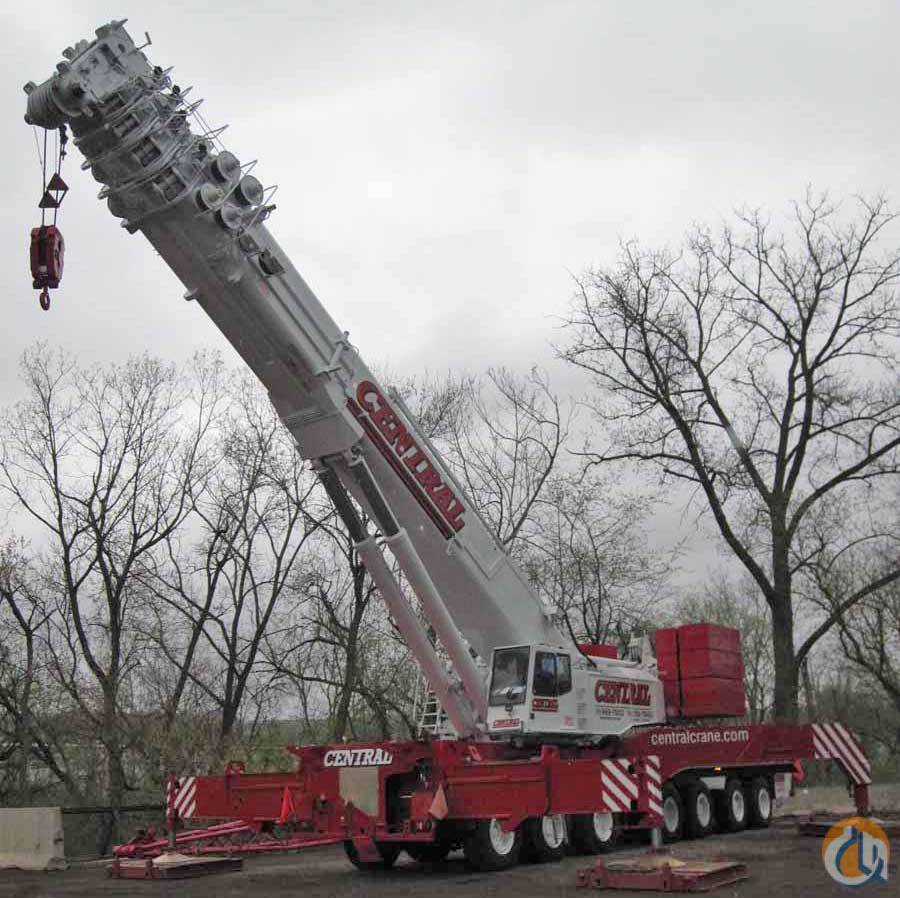 Sold Demag AC 1200 All Terrain Cranes Crane for  Demag AC1200 All Terrain Crane For Sale in  Ohio  United States 143975 CraneNetwork