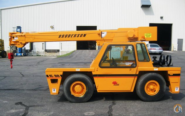 BRODERSON IC-80-3F FOR SALE Crane for Sale in Detroit Michigan on CraneNetworkcom