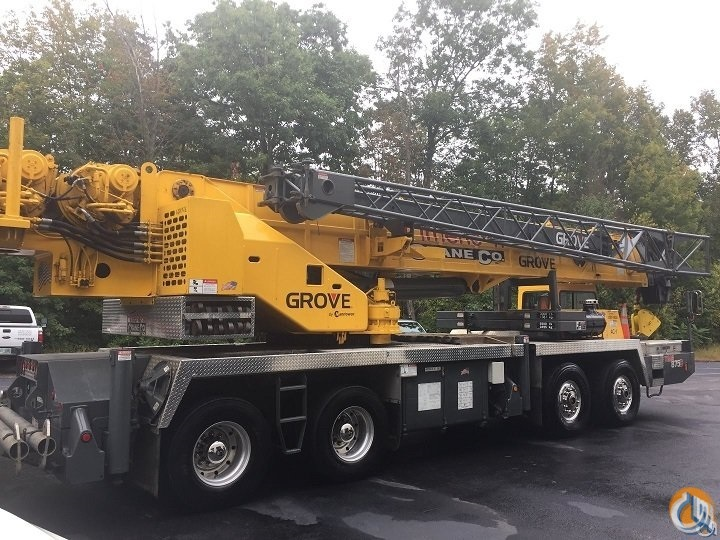 2000 Grove TMS875C Crane for Sale in Hooksett New Hampshire on CraneNetworkcom