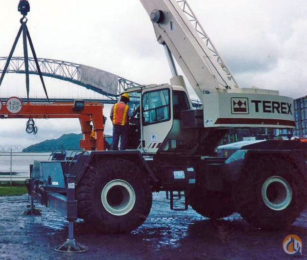 2008 Terex RT335-1 Rough Terrain Crane Crane for Sale on CraneNetworkcom