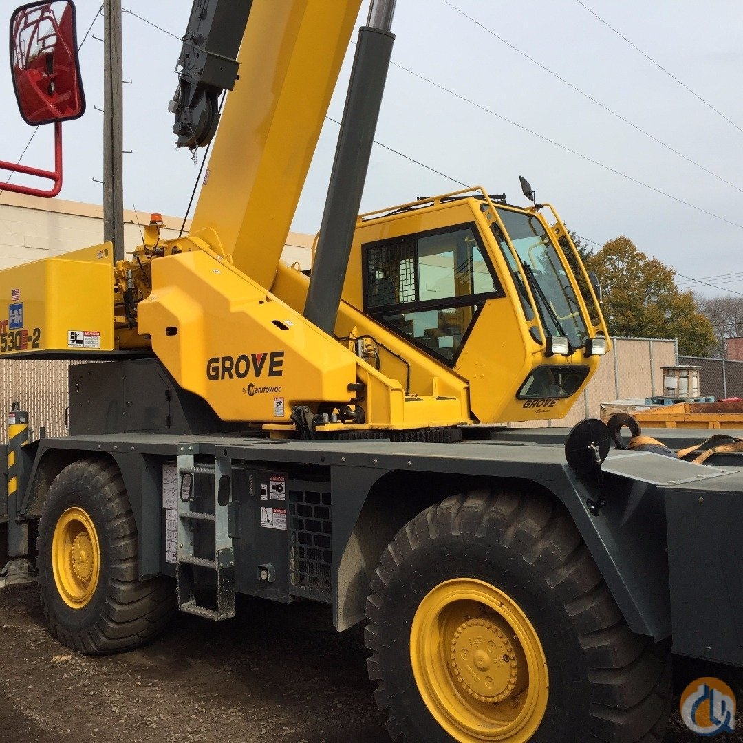 2013 GROVE RT530E-2 Crane for Sale in Bloomington Minnesota on CraneNetworkcom