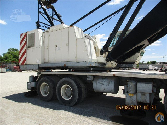 1985 Lorain MC1400 Crane for Sale in Tulsa Oklahoma on CraneNetwork.com