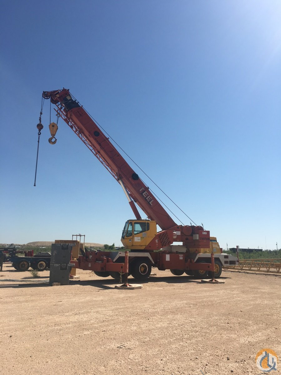 Sold 1994 GROVE TMS750B Crane for  in Stanton Texas on CraneNetwork.com
