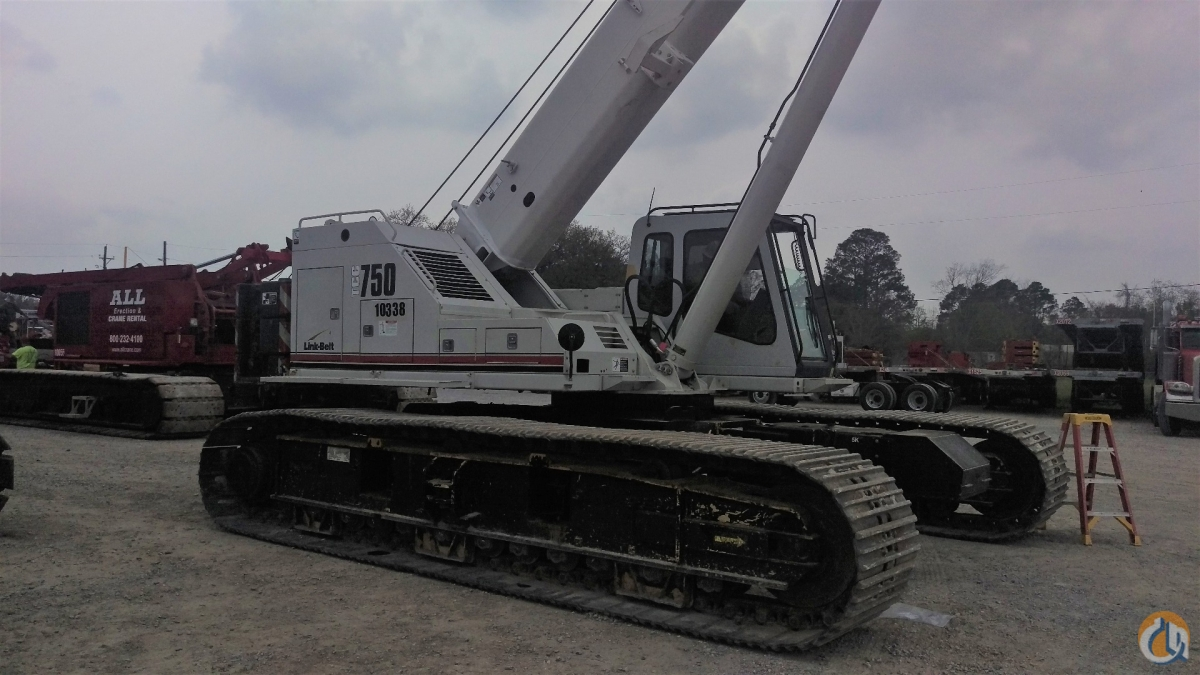 Link Belt TCC-750 Crane for Sale in Knoxville Tennessee on CraneNetwork.com