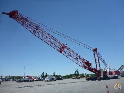 2013 MANITOWOC 16000 440 Ton Self-Erecting Crawler Crane Crane for Sale in Houston Texas on CraneNetworkcom