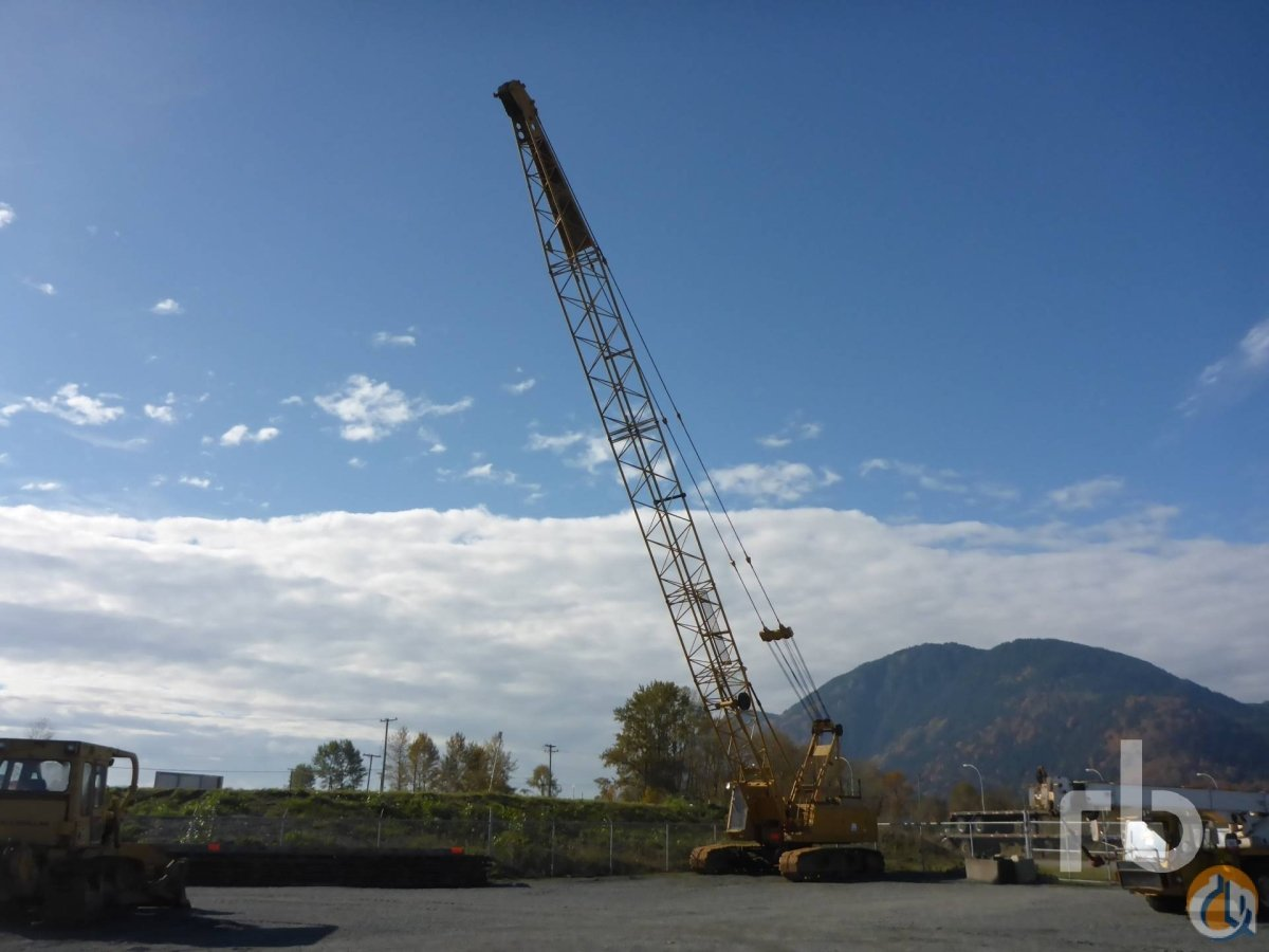Sold 1991 SUMITOMO LS138RH 70 Ton Crawler Crane Crane for  in Chilliwack British Columbia on CraneNetworkcom