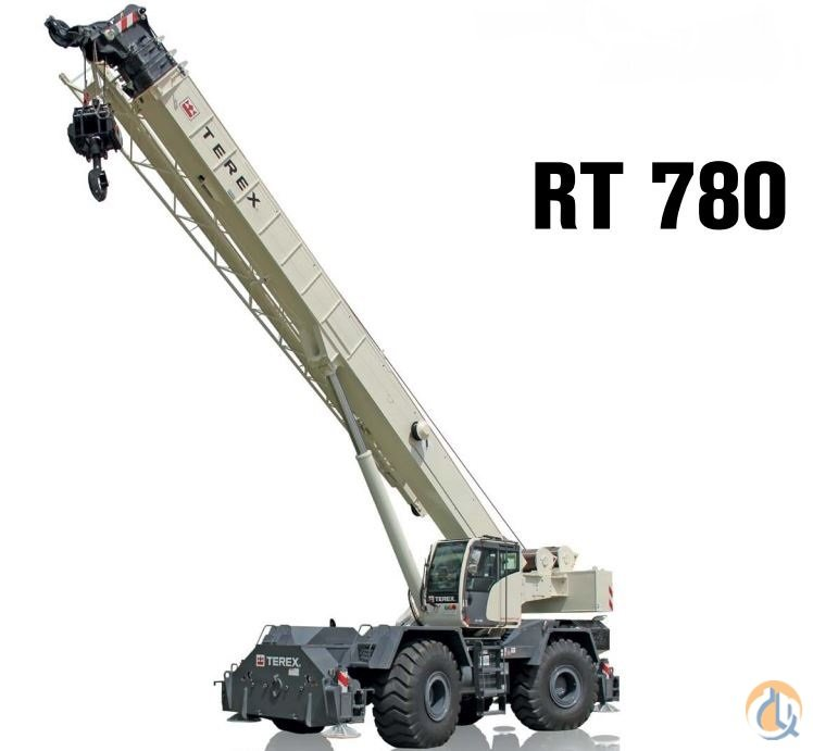 2014 Terex RT780 Crane for Sale in Houston Texas on CraneNetworkcom