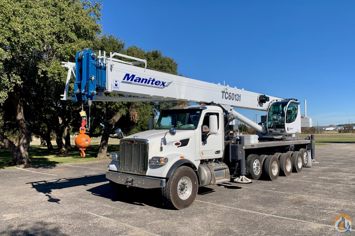 Manitex TC60131 boom truck on 2020 Kenworth T880 chassis Crane for Sale in Houston Texas on CraneNetwork.com